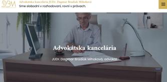 Právnik Bradiak Mihoková